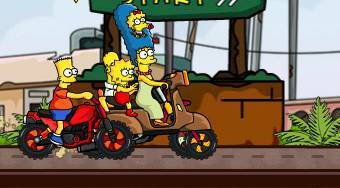 The Simpsons Family Race | Free online game | Mahee.com