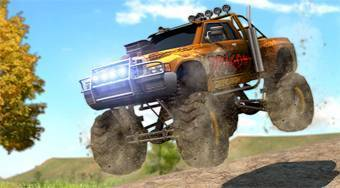 Monster Truck Jam Racing 3D | Free online game | Mahee.com