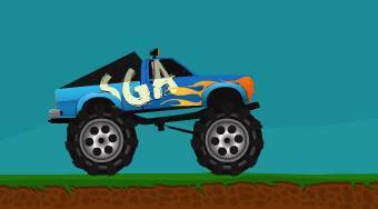 Monster Truck Rage - Game | Mahee.com