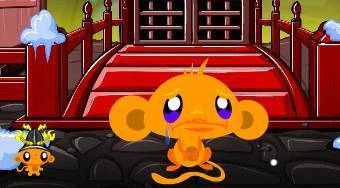Monkey Go Happy Ninjas 3 - Game | Mahee.com