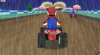 Mario Rain Race - Game | Mahee.com