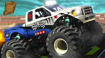 Stunt Monster 3D | Free online game | Mahee.com