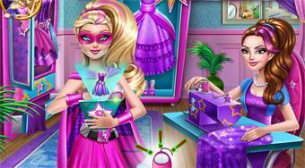 Super Barbie Design Rivals | Free online game | Mahee.com