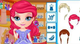 Baby Barbie Goes to Disneyland | Free online game | Mahee.com
