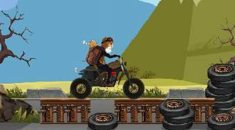 ATV Trike Hill Adventure - online game | Mahee.com