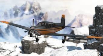 Snowy Mountain Flight Stunts - Le jeu | Mahee.fr