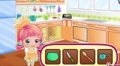 Baby Alice Mom and Me Cooking Pie - el juego online | Mahee.es