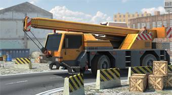 Ultimate 3D Crane Simulator - online game | Mahee.com