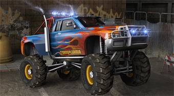 Monster Mission 3D Parking - online game | Mahee.com