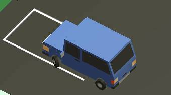 Mine Cartoon Parking | Free online game | Mahee.com