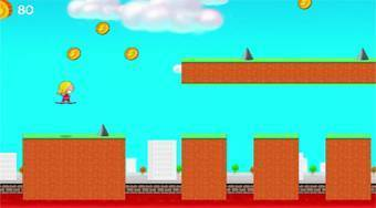 Hover Jump - Game | Mahee.com