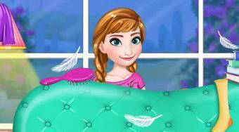 Elsa Royal PJ Party - Game | Mahee.com