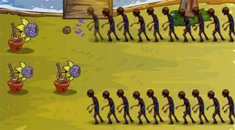 Fruit Zombie Defense 2 | Mahee.com