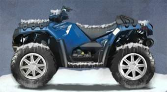 ATV Winter Challenges | Free online game | Mahee.com