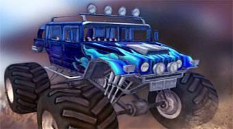 Monster Truck: Off Road - jeu en ligne | Mahee.fr