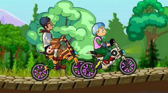Bicycle Mania - online game | Mahee.com