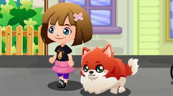 My Cute Pom Puppy | Free online game | Mahee.com