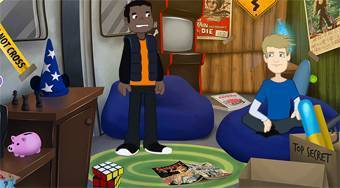 David and Keithan The Haunted Lighthouse - jeu en ligne | Mahee.fr