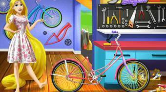 Rapunzel's Workshop Bicycle - Game | Mahee.com