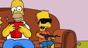 The Simpsons: Bart Rampage | Free online game | Mahee.com