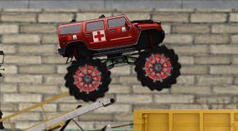Monster Truck Intervention Squad | Jeu en ligne gratuit | Mahee.fr
