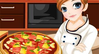Tessa's Cook: Summer Pizza Hawai - Game | Mahee.com