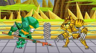 Robo Duel Fight 3: Beast | Free online game | Mahee.com