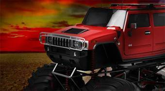 Red Hot Monster Truck | Mahee.com