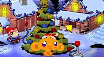 Monkey Go Happy Xmas Tree - Game | Mahee.com