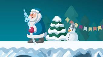 Zombie Santa's Attack | Free online game | Mahee.com