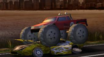 Crazy Monster Truck Smasher - Le jeu | Mahee.fr