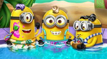 Minions Pool Party | Mahee.fr