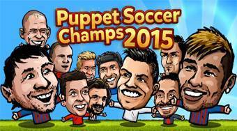 Puppet Soccer Champs 2015 | Free online game | Mahee.com