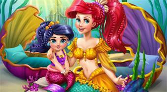 Ariel Mommy Real Makeover - online game | Mahee.com