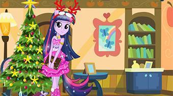 Twilight Sparkle Christmas Prep | Mahee.com
