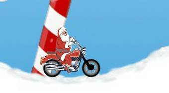 Santa Motocross Action | Free online game | Mahee.com