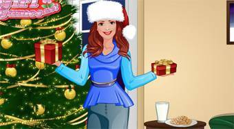 Fashion Studio: Christmas Outfit - online game | Mahee.com