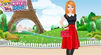 Barbie Flight Atendant in Paris - el juego online | Mahee.es
