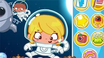 Astronaut Slacking | Free online game | Mahee.com