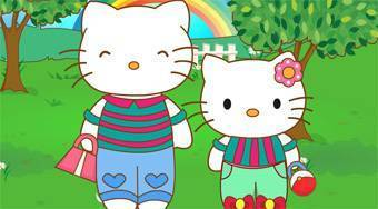 Hello Kitty and Mom Matching Outfits - Game | Mahee.com