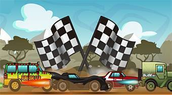 Happy Wheels Racing Movie Cars - Game | Mahee.com