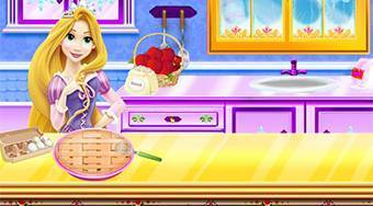 Razpunzel Apple Pie Recipe - jeu en ligne | Mahee.fr