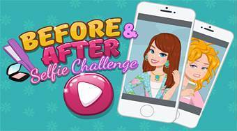Before & After Selfie Challenge - Game | Mahee.com