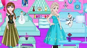 Elsa And Anna Room Decoration - Game | Mahee.com