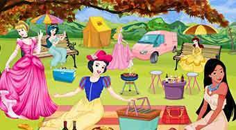 Princesses Picnic Decoration | Mahee.es