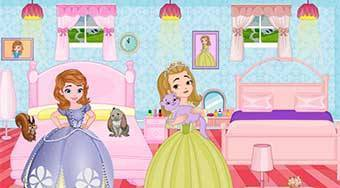 Sofia And Amber Room Decoration - online game | Mahee.com