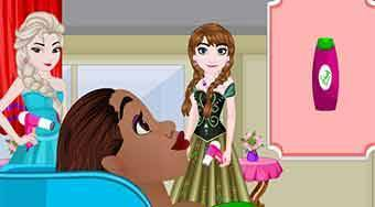 Frozen Princess Hair Salon | Mahee.es