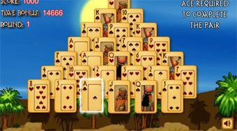 Pyramid Solitaire Ancient Egypt - Le jeu | Mahee.fr