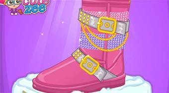 DIY Uggs Design - online game | Mahee.com