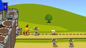 Knight Attack Castle Defense | Mahee.com